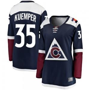 Fanatics Branded Darcy Kuemper Colorado Avalanche Women's Breakaway Alternate Jersey - Navy