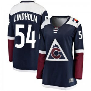 Fanatics Branded Anton Lindholm Colorado Avalanche Women's Breakaway Alternate Jersey - Navy