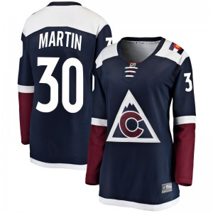 Fanatics Branded Spencer Martin Colorado Avalanche Women's Breakaway Alternate Jersey - Navy