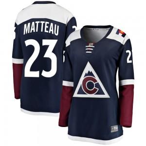 Fanatics Branded Stefan Matteau Colorado Avalanche Women's Breakaway Alternate Jersey - Navy