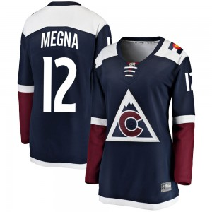 Fanatics Branded Jayson Megna Colorado Avalanche Women's Breakaway Alternate Jersey - Navy