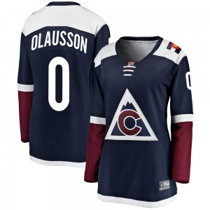 Fanatics Branded Oskar Olausson Colorado Avalanche Women's Breakaway Alternate Jersey - Navy