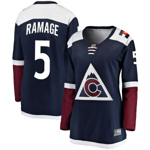 Fanatics Branded Rob Ramage Colorado Avalanche Women's Breakaway Alternate Jersey - Navy