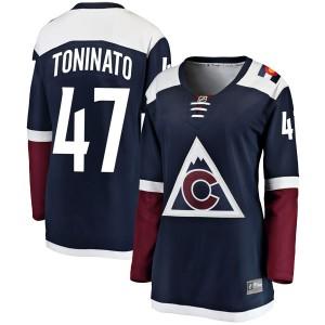 Fanatics Branded Dominic Toninato Colorado Avalanche Women's Breakaway Alternate Jersey - Navy