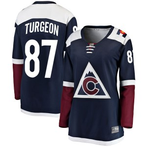 Fanatics Branded Pierre Turgeon Colorado Avalanche Women's Breakaway Alternate Jersey - Navy