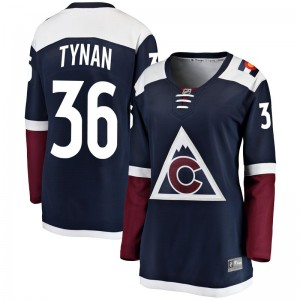 Fanatics Branded T.J. Tynan Colorado Avalanche Women's Breakaway Alternate Jersey - Navy