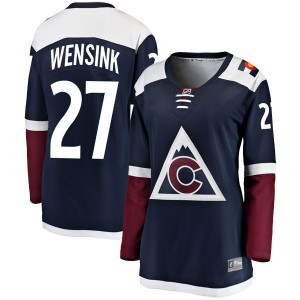 Fanatics Branded John Wensink Colorado Avalanche Women's Breakaway Alternate Jersey - Navy