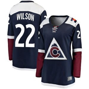 Fanatics Branded Colin Wilson Colorado Avalanche Women's Breakaway Alternate Jersey - Navy