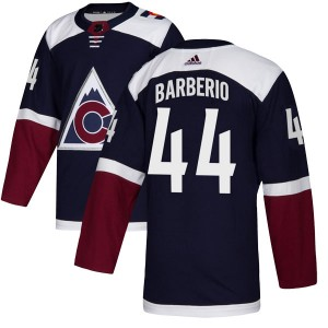 Adidas Mark Barberio Colorado Avalanche Youth Authentic Alternate Jersey - Navy
