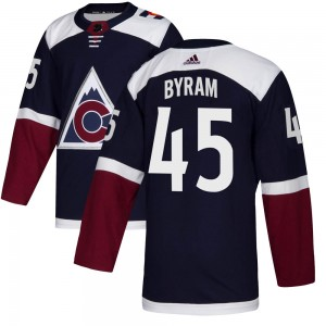 Adidas Bowen Byram Colorado Avalanche Youth Authentic ized Alternate Jersey - Navy