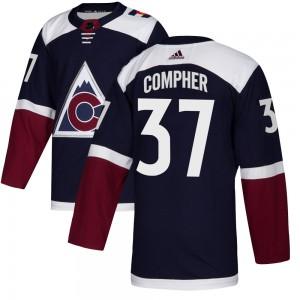 Adidas J.t. Compher Colorado Avalanche Youth Authentic Alternate Jersey - Navy