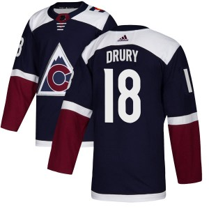 Adidas Chris Drury Colorado Avalanche Youth Authentic Alternate Jersey - Navy