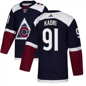 Adidas Nazem Kadri Colorado Avalanche Youth Authentic Alternate Jersey - Navy