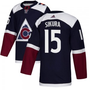 Adidas Dylan Sikura Colorado Avalanche Youth Authentic Alternate Jersey - Navy