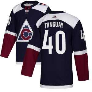Adidas Alex Tanguay Colorado Avalanche Youth Authentic Alternate Jersey - Navy