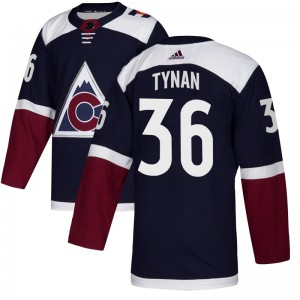 Adidas T.J. Tynan Colorado Avalanche Youth Authentic Alternate Jersey - Navy