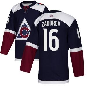 Adidas Nikita Zadorov Colorado Avalanche Youth Authentic Alternate Jersey - Navy