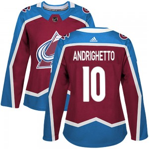 Adidas Women's Sven Andrighetto Colorado Avalanche Women's Authentic Burgundy Home Jersey