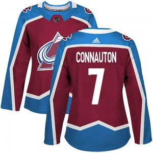Adidas Women's Kevin Connauton Colorado Avalanche Women's Authentic Burgundy Home Jersey