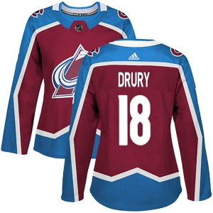Adidas Women's Chris Drury Colorado Avalanche Women's Authentic Burgundy Home Jersey