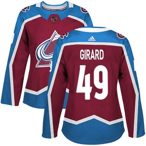 Adidas Women's Samuel Girard Colorado Avalanche Women's Authentic Burgundy Home Jersey