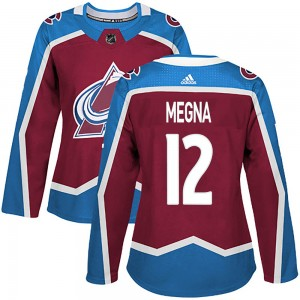 Adidas Women's Jayson Megna Colorado Avalanche Women's Authentic Burgundy Home Jersey