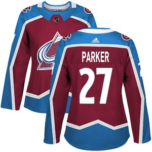 Adidas Women's Scott Parker Colorado Avalanche Women's Authentic Burgundy Home Jersey