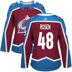 Adidas Women's Calle Rosen Colorado Avalanche Women's Authentic Burgundy Home Jersey