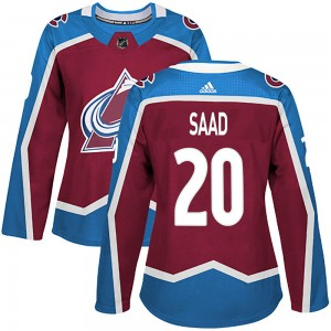 Adidas Women's Brandon Saad Colorado Avalanche Women's Authentic Burgundy Home Jersey