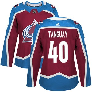 Adidas Women's Alex Tanguay Colorado Avalanche Women's Authentic Burgundy Home Jersey