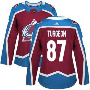 Adidas Women's Pierre Turgeon Colorado Avalanche Women's Authentic Burgundy Home Jersey