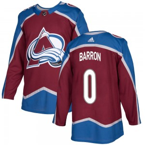 Adidas Youth Justin Barron Colorado Avalanche Youth Authentic Burgundy Home Jersey