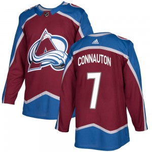 Adidas Youth Kevin Connauton Colorado Avalanche Youth Authentic Burgundy Home Jersey