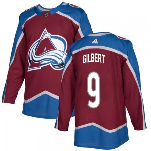 Adidas Youth Dennis Gilbert Colorado Avalanche Youth Authentic Burgundy Home Jersey