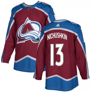 Adidas Youth Valeri Nichushkin Colorado Avalanche Youth Authentic Burgundy Home Jersey
