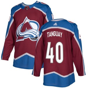 Adidas Youth Alex Tanguay Colorado Avalanche Youth Authentic Burgundy Home Jersey