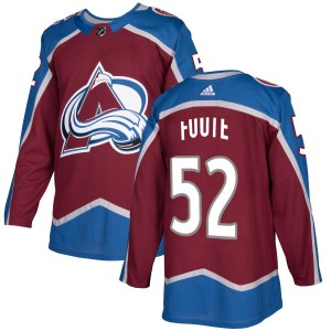 Adidas Men's Adam Foote Colorado Avalanche Authentic Burgundy Jersey