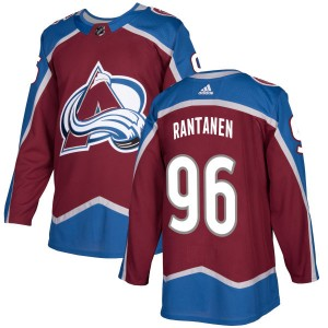 Adidas Men's Mikko Rantanen Colorado Avalanche Authentic Burgundy Jersey