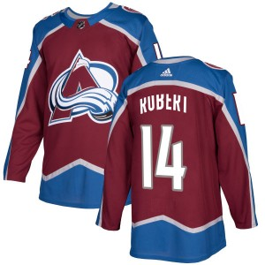 Adidas Men's Rene Robert Colorado Avalanche Authentic Burgundy Jersey
