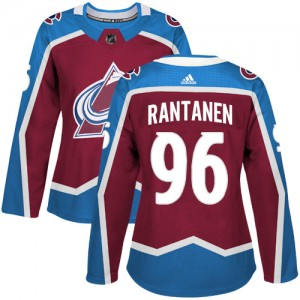 Adidas Mikko Rantanen Colorado Avalanche Women's Authentic Burgundy Home Jersey - Red