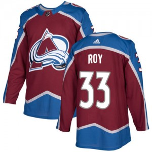 Adidas Patrick Roy Colorado Avalanche Youth Authentic Burgundy Home Jersey - Red