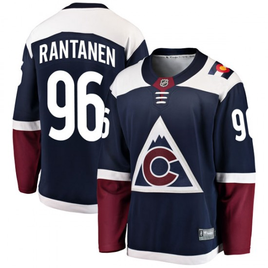 Fanatics Branded Mikko Rantanen Colorado Avalanche Youth Breakaway Alternate Jersey - Navy