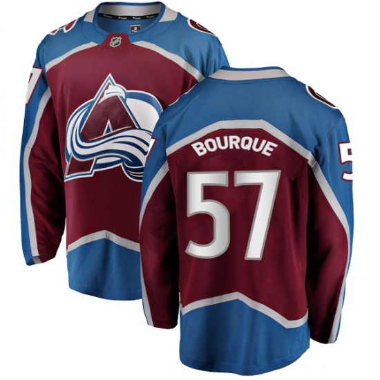 Fanatics Branded Youth Gabriel Bourque Colorado Avalanche Youth Breakaway Maroon Home Jersey