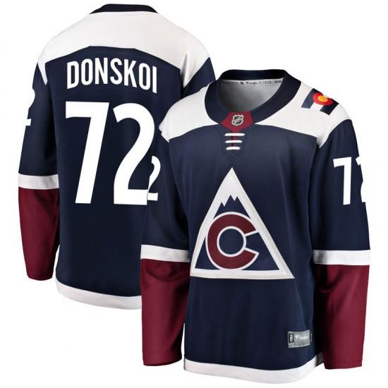 Fanatics Branded Joonas Donskoi Colorado Avalanche Men's Breakaway Alternate Jersey - Navy