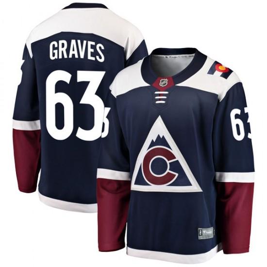 Fanatics Branded Ryan Graves Colorado Avalanche Men's Breakaway Alternate Jersey - Navy
