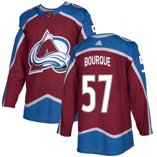 Adidas Men's Gabriel Bourque Colorado Avalanche Men's Authentic Burgundy Home Jersey
