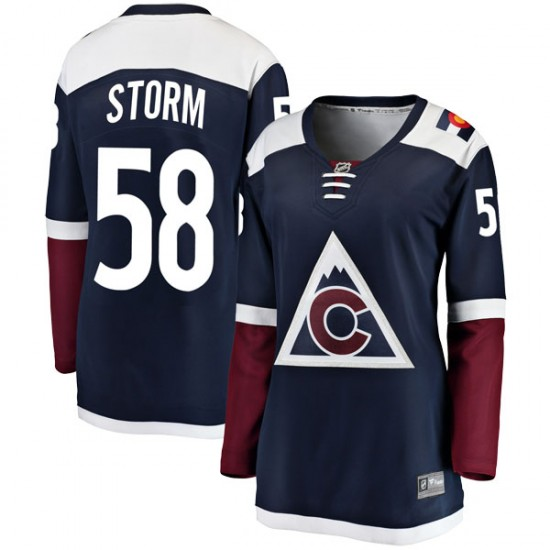 Fanatics Branded Ben Storm Colorado Avalanche Women's Breakaway Alternate Jersey - Navy